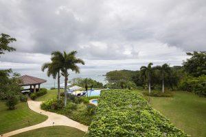 View of Peninsula Papagayo, Costa Rica